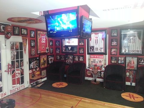 Houston man has mini Toyota Center in home   Latest News - Home
