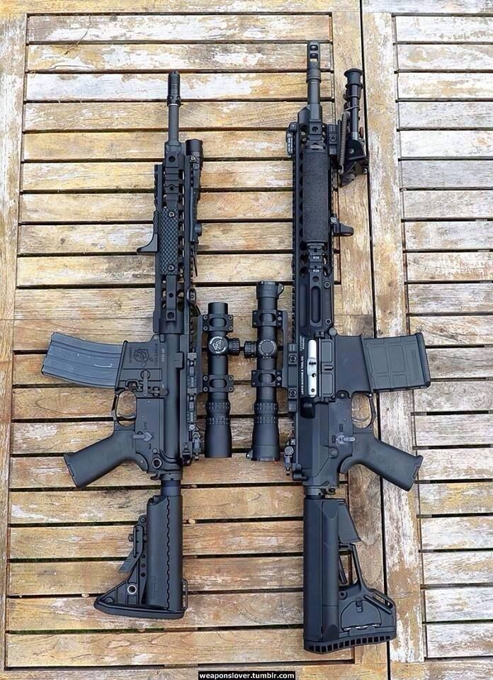 AR-15 and AR-10. Yes please.