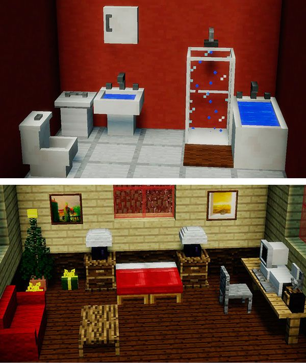 Mrcrayfish S Furniture Mod Para Minecraft 1 12 1 12 1 Y 1 12 2