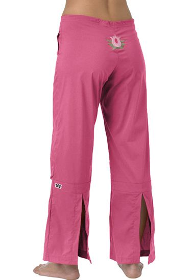 Pink Lotus Yoga Pants - Women's Fitness Apparel