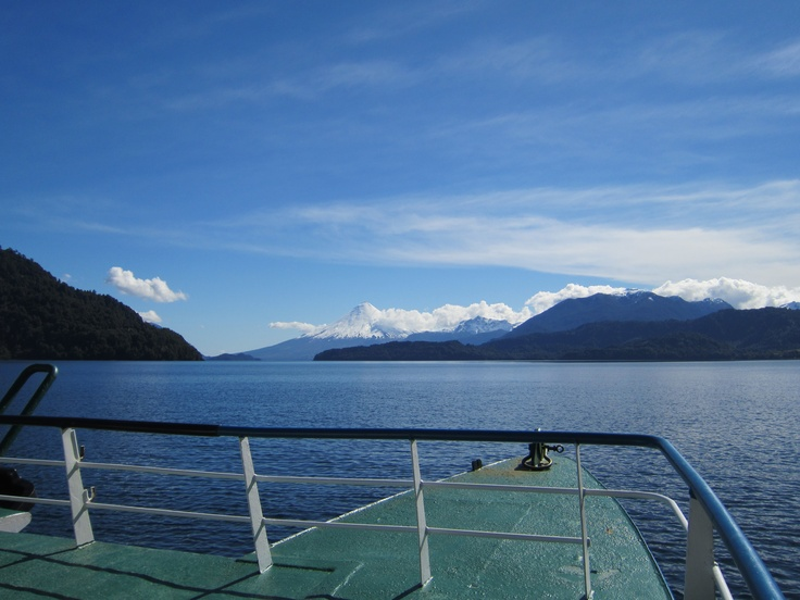 On board the Cruce Andino. Photo by CD