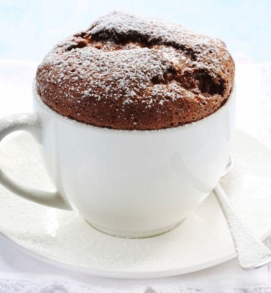Chocolate Molten Lava Tea Cup Cake