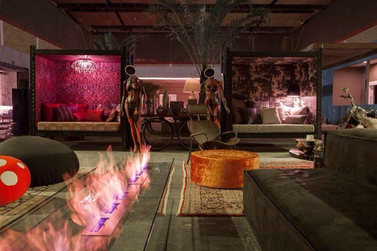 Lounge mostra relax baby ... Espaço de convivência mostra de decoração