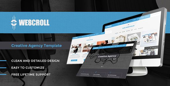 WeScroll - Creative OnePage WordPress Theme. Full view: https://themeforest.net/item/wescroll-creative-onepage-wordpress-theme/15852950?s_rank=32?ref=thanhdesign