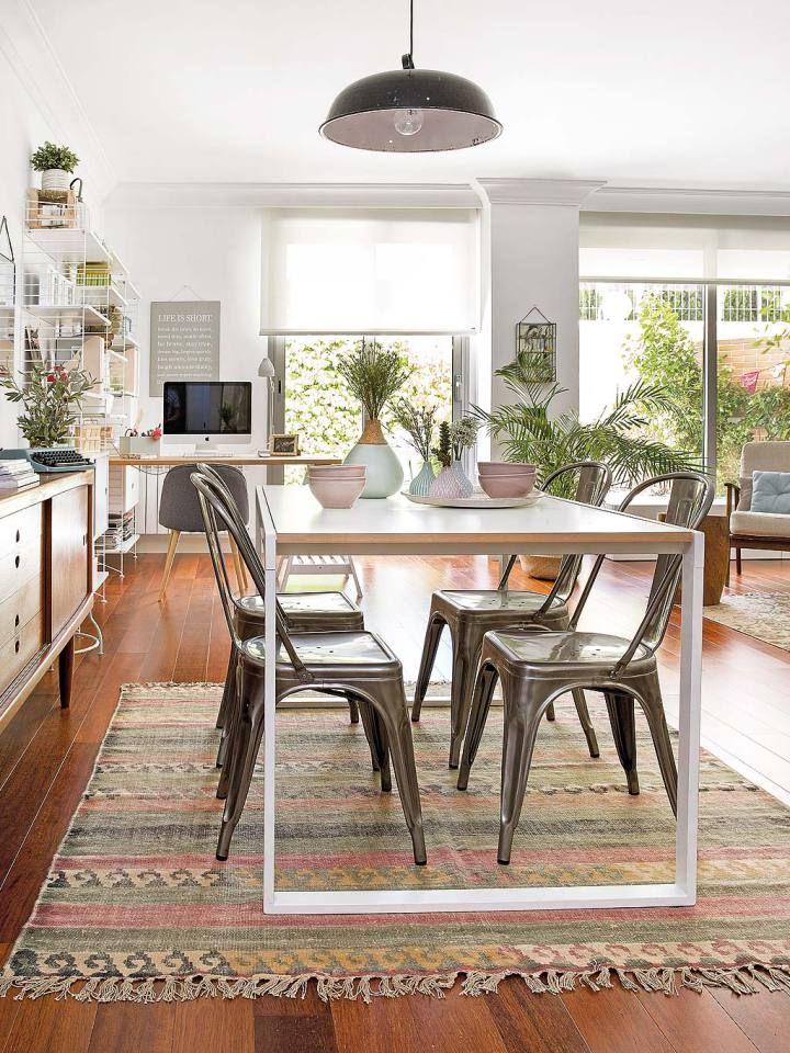 estilo nrdico con detalles personales en madrid decoracion salon comedor decoracion oficina y decoracion salones