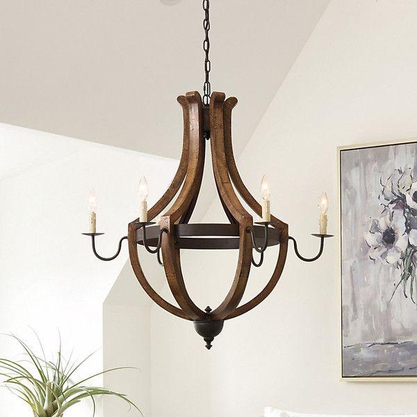 Ballard Designs Chandelier ballard designs tuscany 6-light chandelier ($549) ❤ liked on