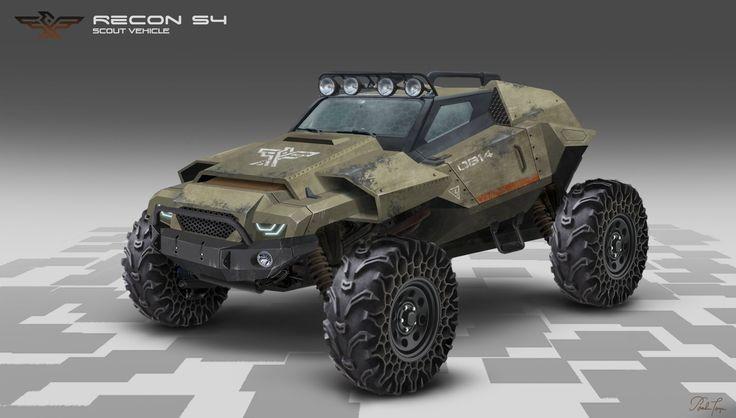 ArtStation - Scout Vehicle , Pamela Torzan