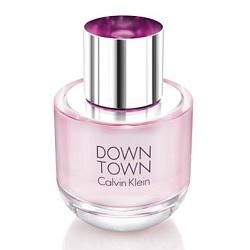 """The new Calvin Klein Downtown Eau de Parfum is hailed as """"a signature classic for a real woman, sophisticated, distinct, and unique…with attitude""""."""