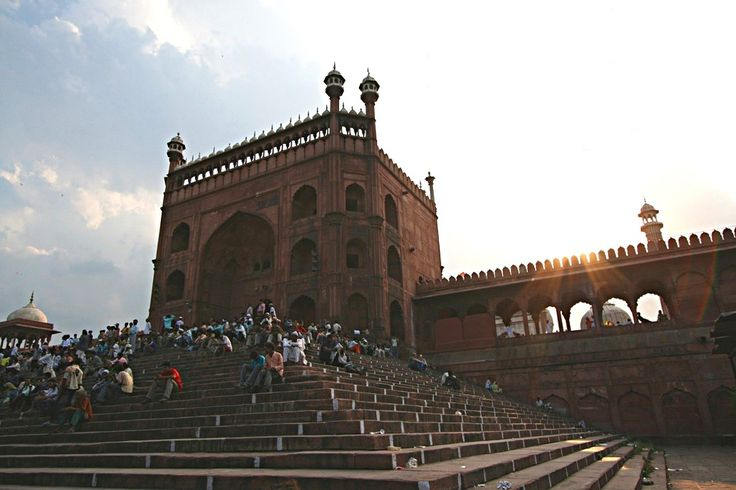 Jama Masjid, old Delhi. Foto di Samuele Fracasso