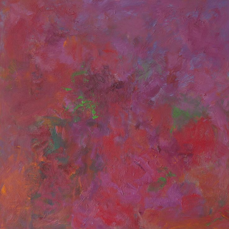 Rautio: Iitin Tiltu -rose, 73x73 cm, oil on canvas, 2017.