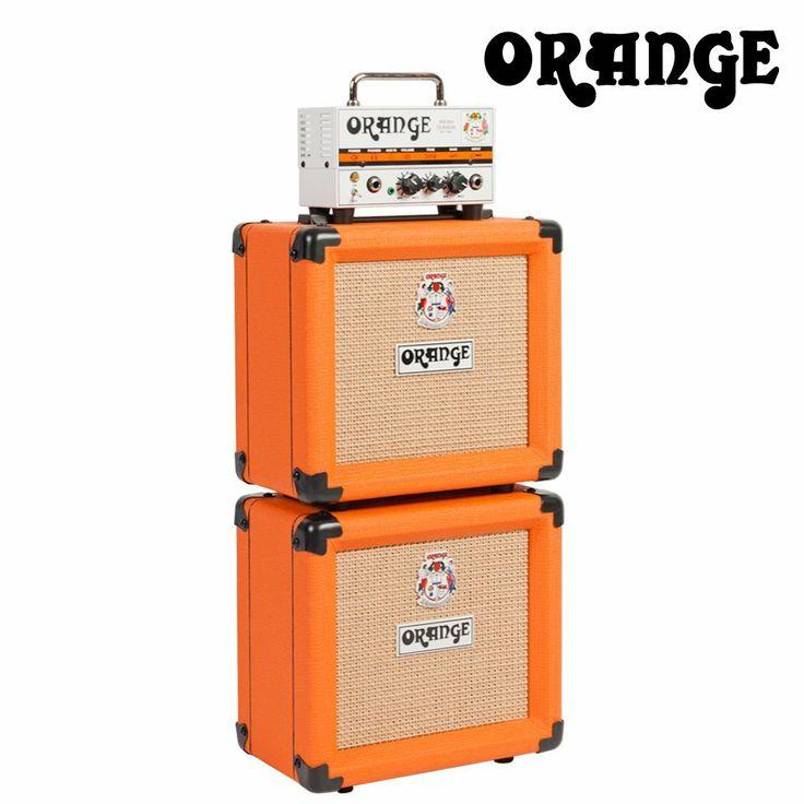 Orange Micro Terror MT20 and 2-PPC108 Cabinets Stack Kit