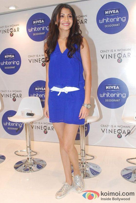 Anushka Sharma At Nivea Press Conference Event