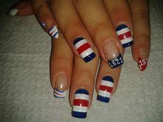 INDEPENDENCIA DE COSTA RICA5 by R7777 - Nail Art Gallery nailartgallery.nailsmag.com by Nails Magazine www.nailsmag.com #nailart