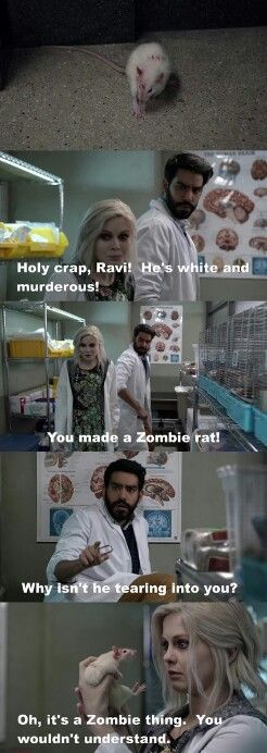 "#iZombie 1x08 ""Dead Air"" - Liv and Ravi"