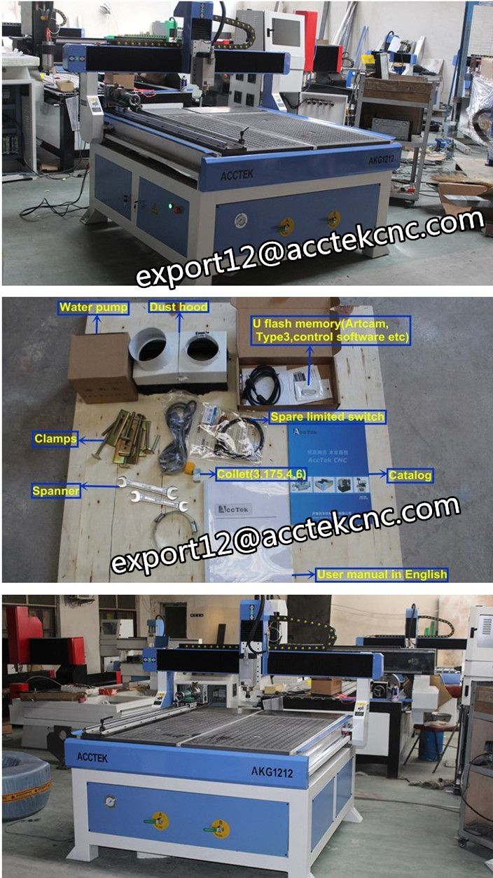 Three heads 3d relief cnc wood router china mainland wood router - Small Cnc 1212 Wood Router Cnc 4th Axis 3d Milling Machine For Wood Acrylic
