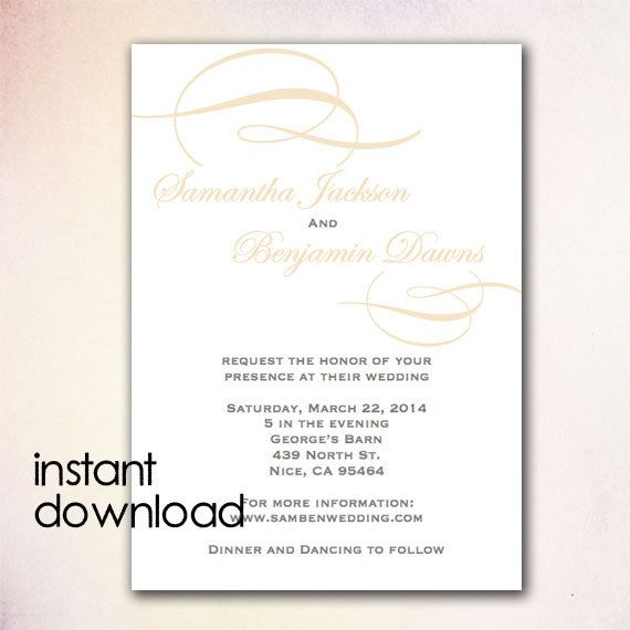 invitation template microsoft word