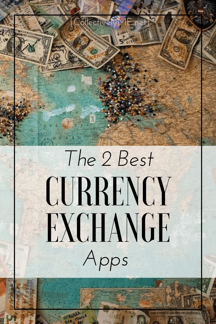 The 2 best currency exchange apps. Travelling the world with Collectively ME