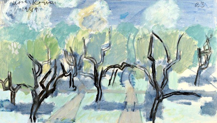 "Ragnar Sandberg - ""Jardin aux Lilas"""