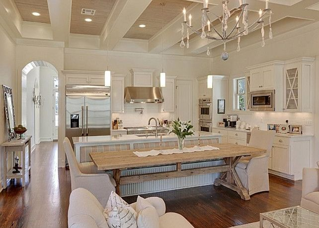 French White Kitchen. Great French White Kitchen Design!