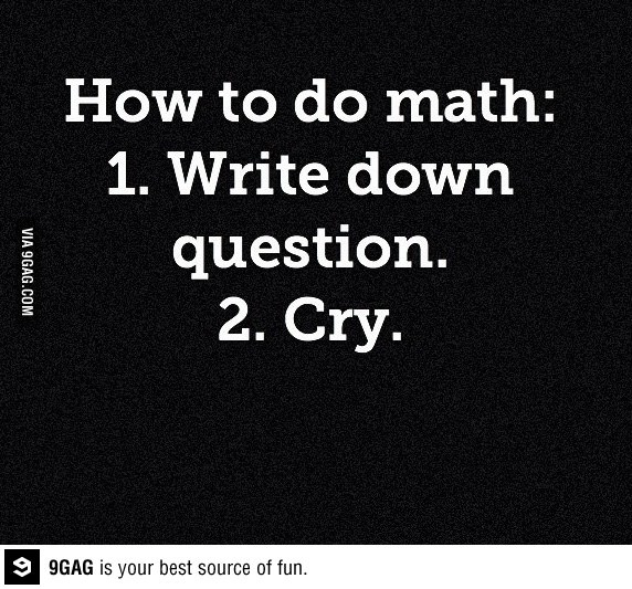 Why does math make me cry?