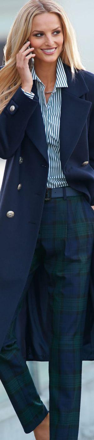 Madeleine Wool Coat