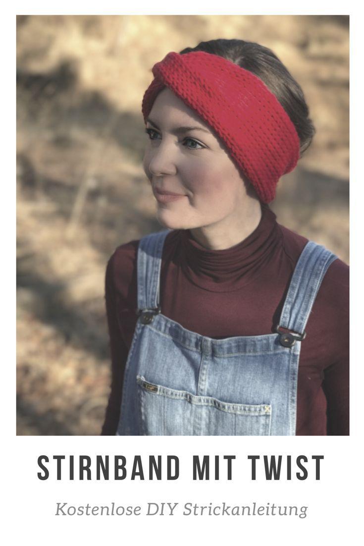 Diy Strickliebe Stirnband Mit Twist Selbst Stricken Mama Mode