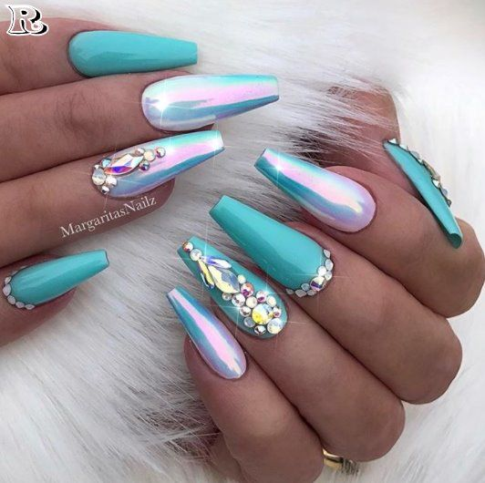 Chrome Nail Polish Is That The Latest Trend These Days Conuous Styles Are Referred To As Mirror Nails They Re Therefore Shiny Then Bright