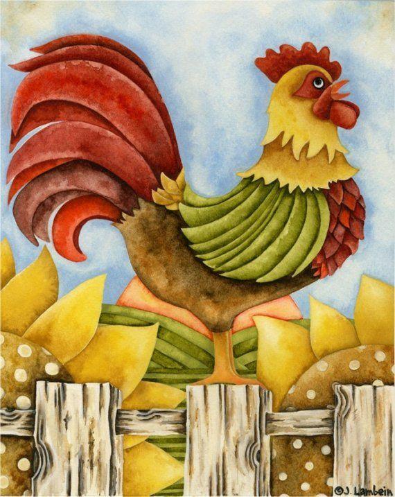 El gallo- Activador del sector Oeste, atrae la armonía a sus  casas y hogares