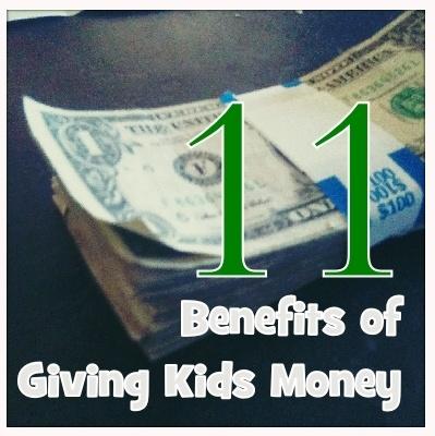 11benefits of Giving Kids an #allowance