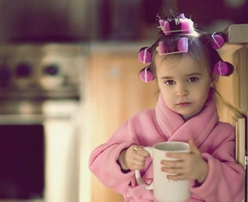 You have to suffer to be beautiful... :): Rollers, Two, Little Girls, Memorial Cups, Childhood Memories, Kids Fashion, Minis, Baby, Memorial Mornings