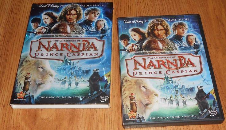 The Chronicles of Narnia: Prince Caspian (DVD, 2008) Disney DVD Slip Cover