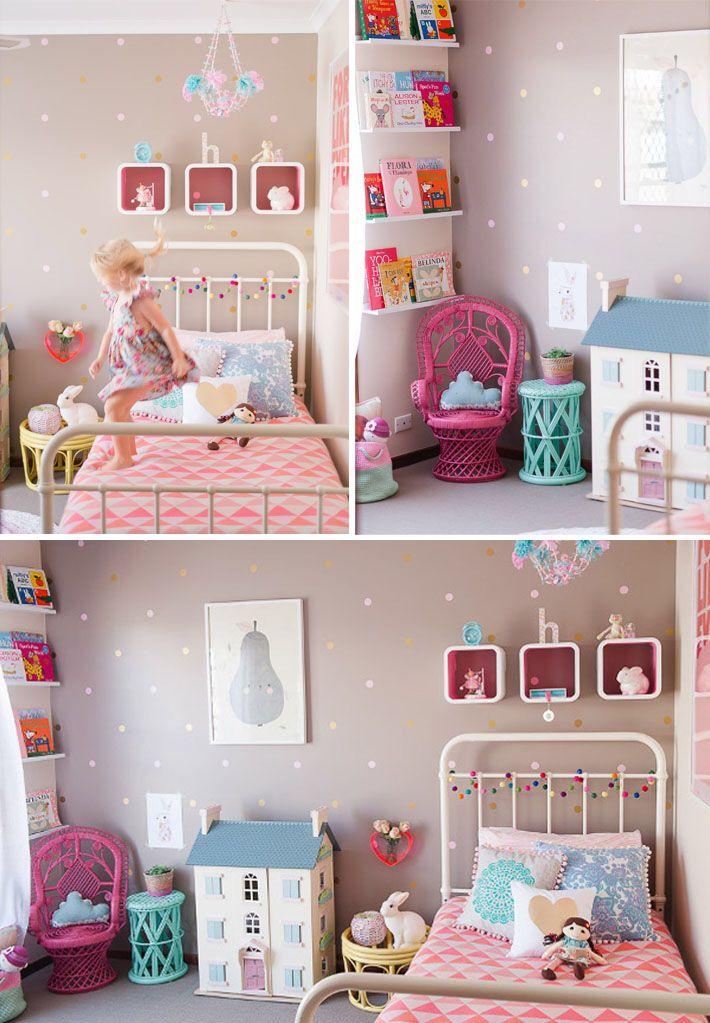 Mejores 340 im genes de dormitorios ni a en pinterest - Dormitorios infantiles nina ...