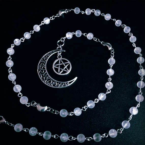 Moon Goddess  Witches Ladder  Pagan Wiccan Witch Prayer