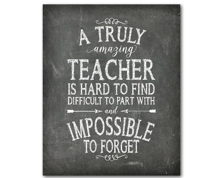 Teacher Appreciation Print A truly by SusanNewberryDesigns
