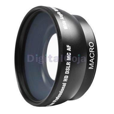 Lente Gran Angular 52mm Colocar Nikon / Canon / Etc 18-55mm - S/. 189,99