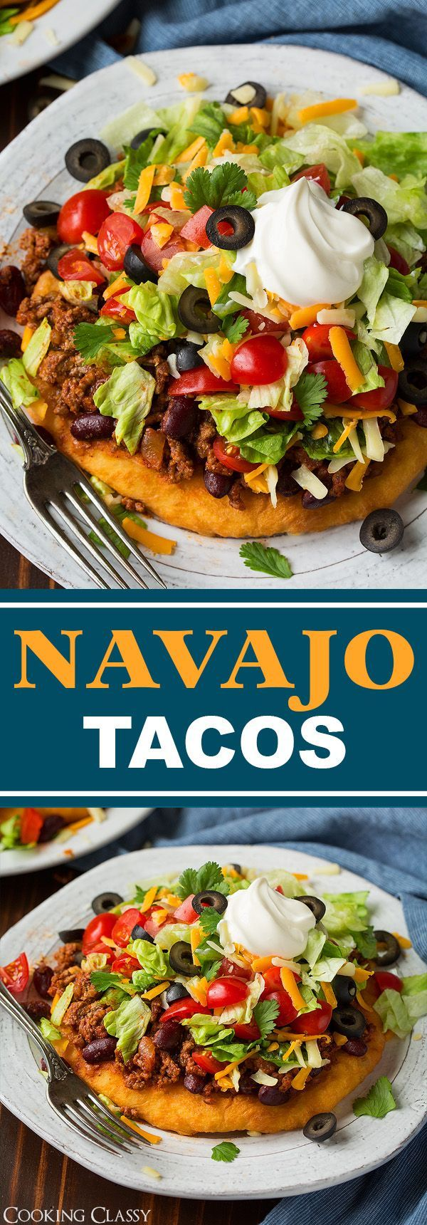 Mom's Navajo Tacos and Indian Fry Bread - Cooking Classy (Baked Mexican Recipes)