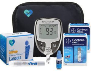 Home Medicine-Bayer Contour Next EZ Blood Glucose Meter