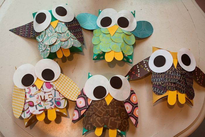 Owl gift boxes