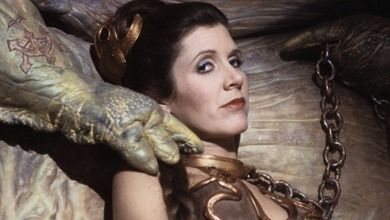 Princess Leia Organa from Star Wars Episode 6 Return Of The Jedi