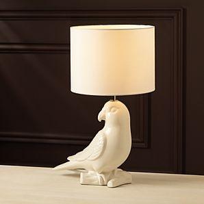 ASDA Ceramic Parrot Table Lamp