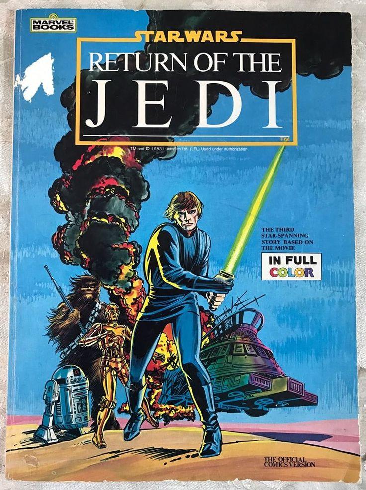 star wars return of the jedi marvel books sc official