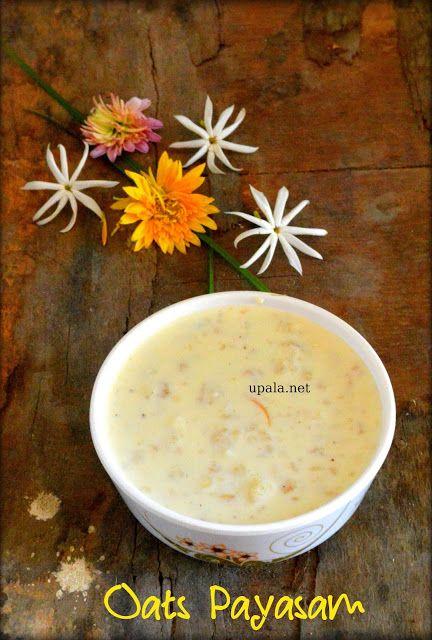 Kalkandu oats payasam/Rock candy oats kheer  http://www.upala.net/2016/02/kalkandu-oats-payasamrock-candy-oats.html