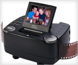 Convert old #film negatives and slides into #digital JPEG #photos with push of a button. There is live preview on LCD also!