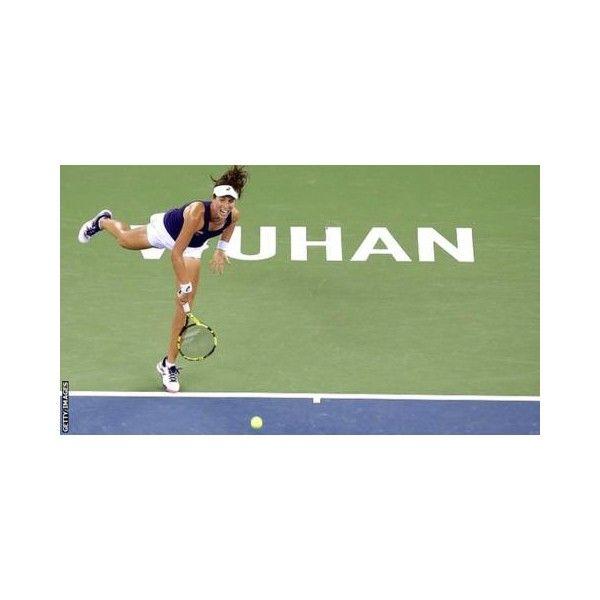 Johanna Konta beats Carla Suarez Navarro in hopes of qualifying for Singapore.