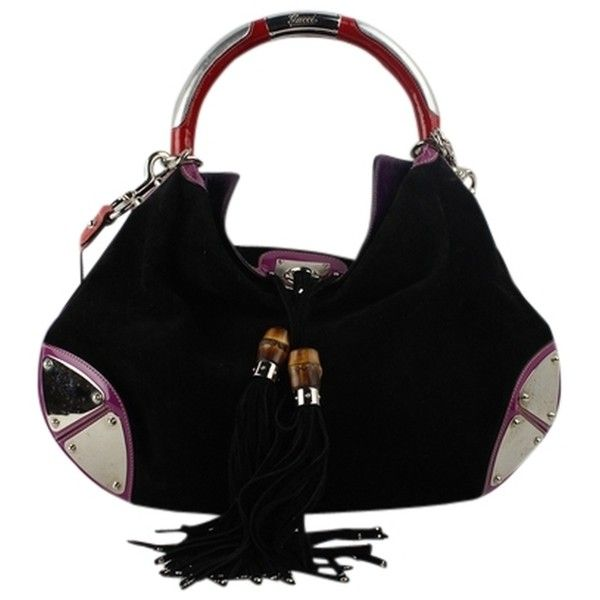 Pre-owned Gucci Multicolor Babouska 177088 00101 Hobo Bag ($1,222) ❤ liked on Polyvore featuring bags, handbags, shoulder bags, black, black hobo shoulder bag, shoulder strap handbags, black patent leather shoulder bag, black hobo handbags and hobo handbags