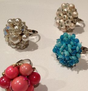 How to Make a Ring from Vintage Earrings | AllFreeJewelryMaking.com