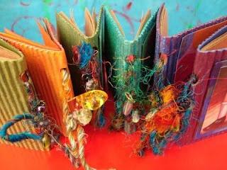 mini-book: Crafts Ideas, Journals Giveaways, Bitty Journals, Club Ideas, Minibook, Journals Art