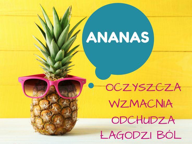 Ten pyszny owoc powinien znaleźć się w menu każdego kto pragnie cieszyć się nienaganną sylwetką. Naturalny ananas przyspiesza metabolizm, jest niskokaloryczny, spala tłuszczyk z brzucha i reguluje pracę żołądka. W dodatku pozytywnie wpływa na stan skóry. Samo zdrowie!