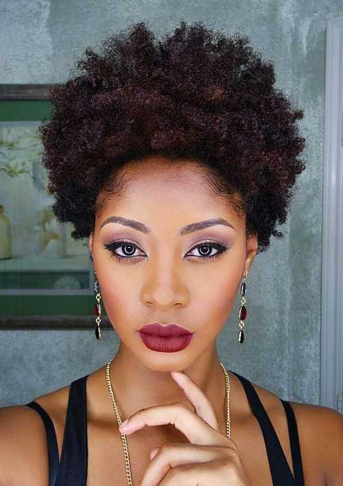 Peachy 1000 Ideas About Black Women Natural Hairstyles On Pinterest Short Hairstyles Gunalazisus