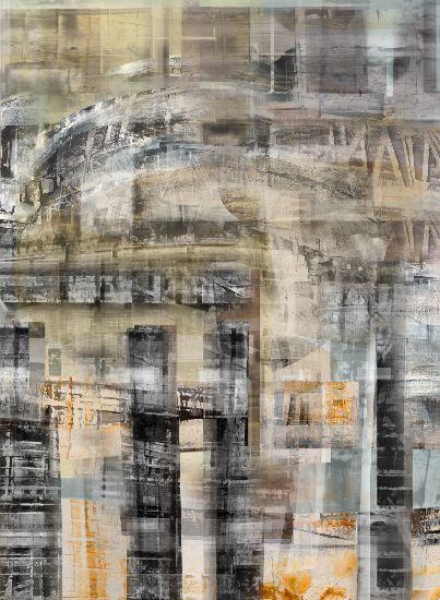 Canan Tolon, Glitch 6, 2009, digital pigment print on paper